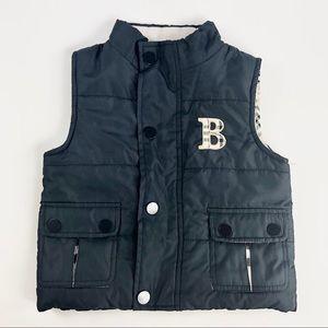 "Toddler ""Burberry"" vest"